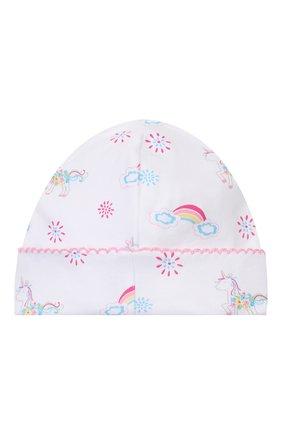 Детского хлопковая шапка KISSY KISSY разноцветного цвета, арт. KG503175N | Фото 2