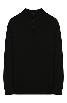 Детский свитер PAOLO PECORA MILANO черного цвета, арт. PP1916/6Y-12Y | Фото 1