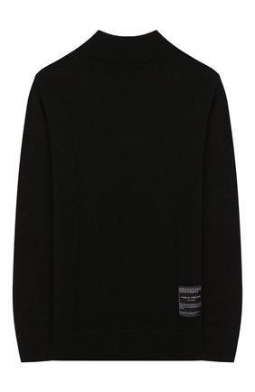 Детский свитер PAOLO PECORA MILANO черного цвета, арт. PP1916/6Y-12Y | Фото 2