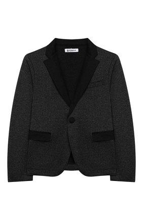 Детский пиджак DONDUP черного цвета, арт. BJ154/TY0001B/XXX | Фото 1