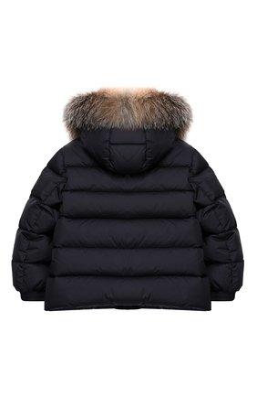 Детский комплект из куртки и комбинезона MONCLER синего цвета, арт. E2-954-70350-25-68352/4-6A | Фото 3