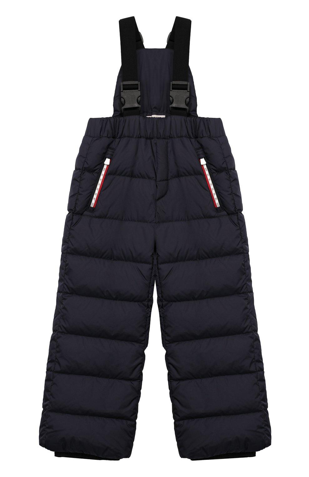 Детский комплект из куртки и комбинезона MONCLER синего цвета, арт. E2-954-70350-25-68352/4-6A | Фото 4