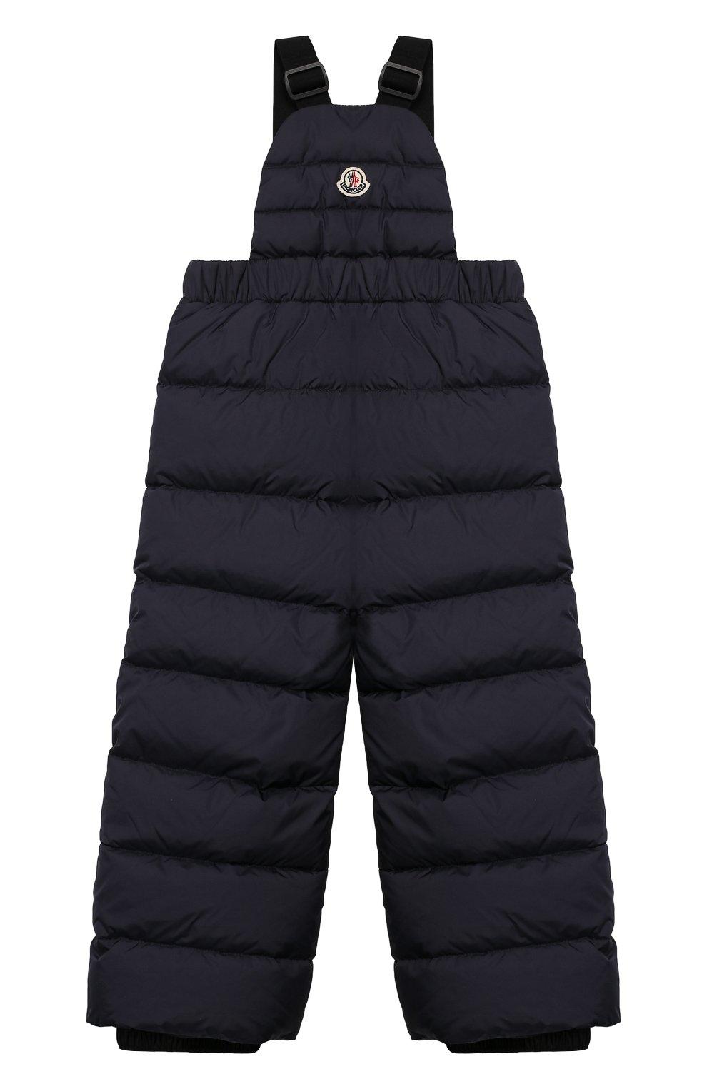 Детский комплект из куртки и комбинезона MONCLER синего цвета, арт. E2-954-70350-25-68352/4-6A | Фото 5