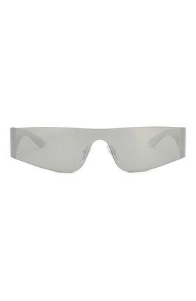 Женские солнцезащитные очки BALENCIAGA серого цвета, арт. BB0041 002   Фото 3