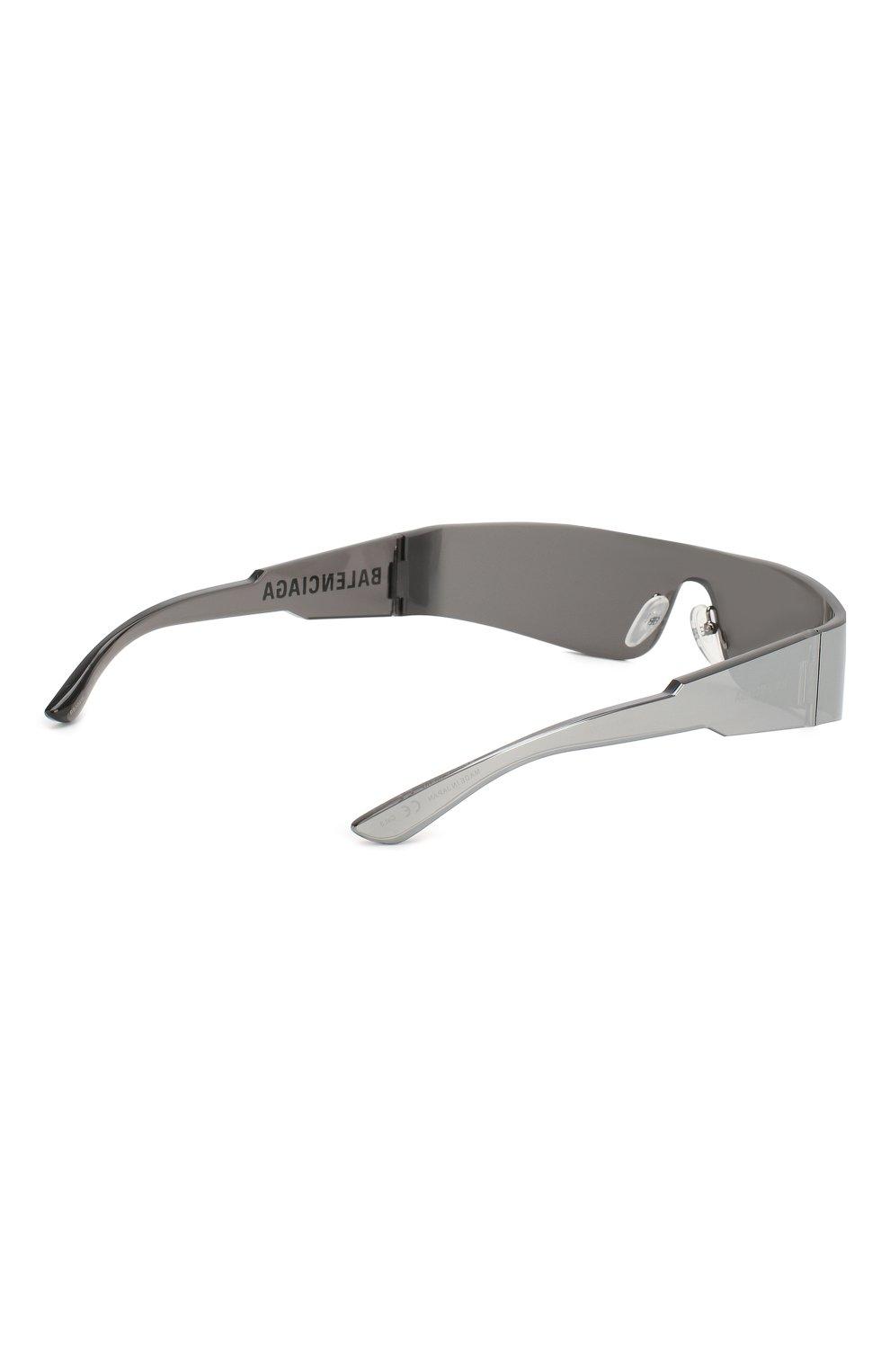 Женские солнцезащитные очки BALENCIAGA серого цвета, арт. BB0041 002   Фото 4
