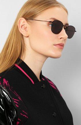 Женские солнцезащитные очки SAINT LAURENT черного цвета, арт. SL 299 002 | Фото 2