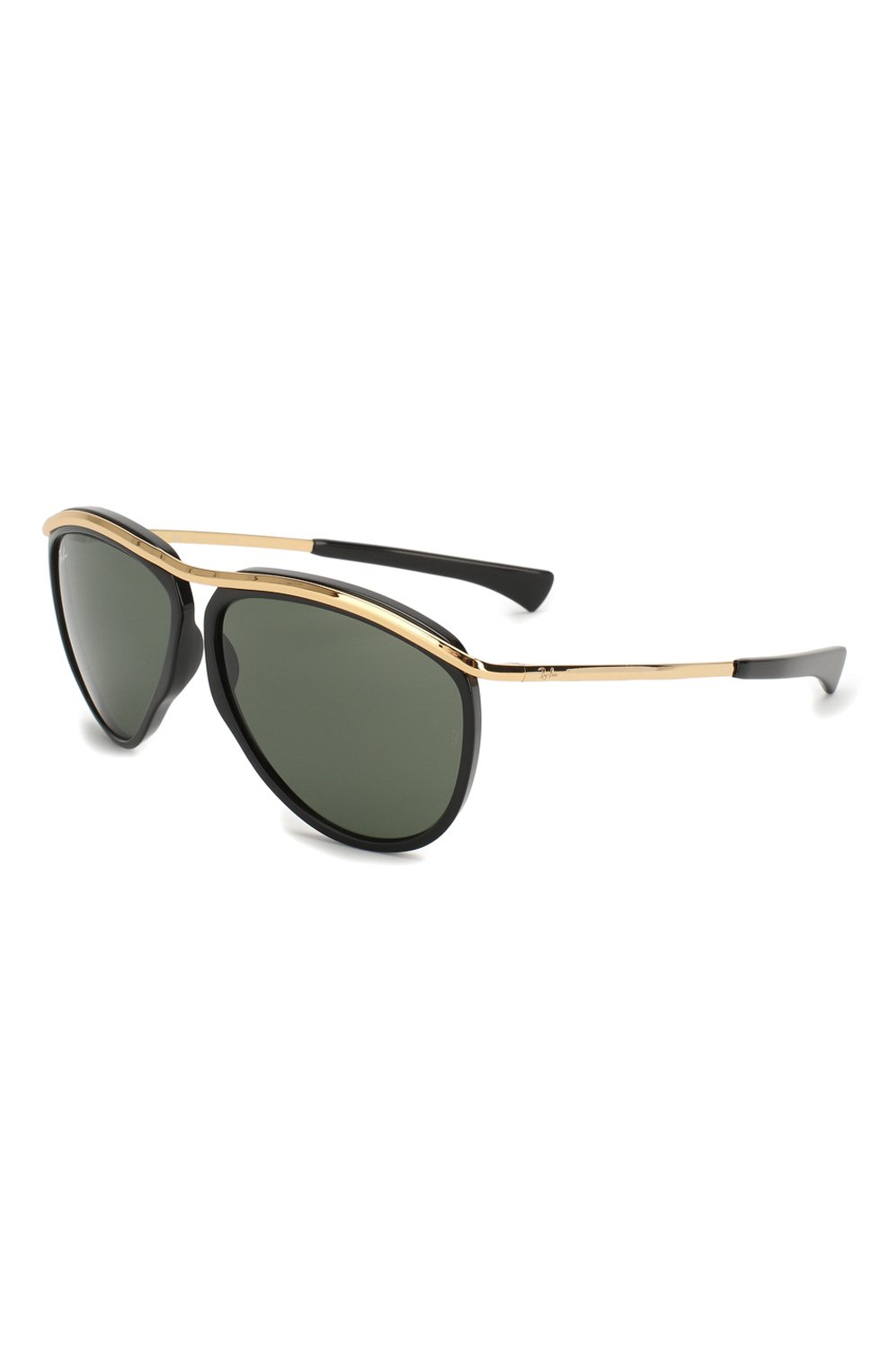 Женские солнцезащитные очки RAY-BAN черного цвета, арт. 2219-901/31 | Фото 1