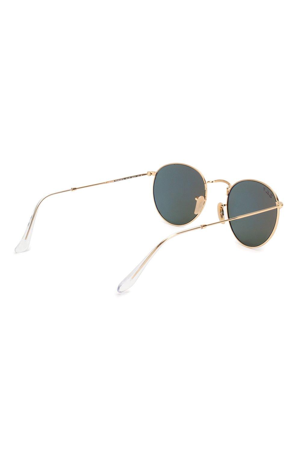 Женские солнцезащитные очки RAY-BAN золотого цвета, арт. 3447-001/58 | Фото 5