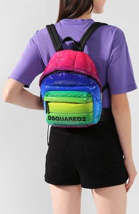 Женский рюкзак DSQUARED2 разноцветного цвета, арт. BPW0008 11202411 | Фото 2