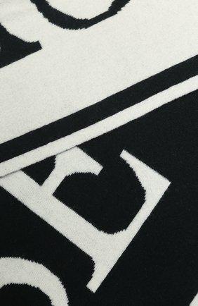 Мужские шерстяной шарф CANADA GOOSE черного цвета, арт. 5508L | Фото 2