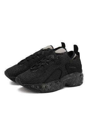 Комбинированные кроссовки Manhattan Safety | Фото №1