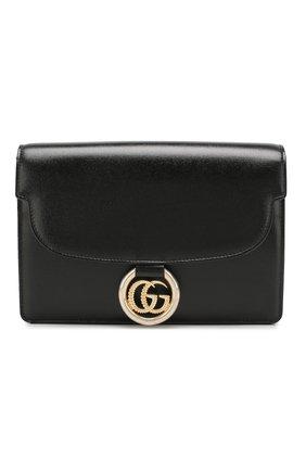 Женская сумка gg ring small GUCCI черного цвета, арт. 589474/1DB0G | Фото 1