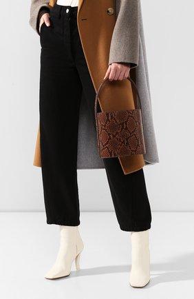 Женская сумка bisset STAUD коричневого цвета, арт. 159-9000 | Фото 2