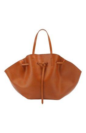 Женская сумка lynne NANUSHKA коричневого цвета, арт. LYNNE_TAN_LEATHER | Фото 1