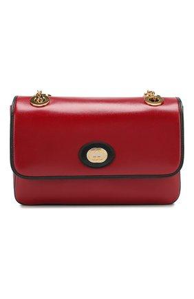 Женская сумка marina small GUCCI красного цвета, арт. 576421/1DBAX | Фото 1
