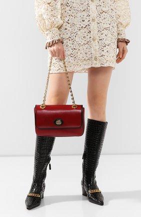Женская сумка marina small GUCCI красного цвета, арт. 576421/1DBAX | Фото 2