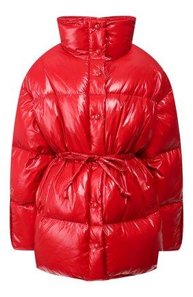 Женский пуховая куртка ACNE STUDIOS красного цвета, арт. A90144 | Фото 1
