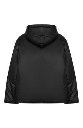 Детского двусторонняя куртка с капюшоном PAOLO PECORA MILANO темно-серого цвета, арт. PP2034/6Y-12Y | Фото 2