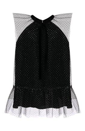 Детское платье OSCAR DE LA RENTA серебряного цвета, арт. 19FGN682GLT | Фото 1