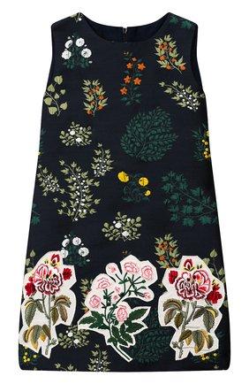 Детское платье OSCAR DE LA RENTA синего цвета, арт. 19FGE620BG | Фото 1