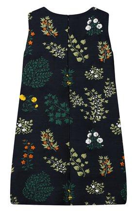 Детское платье OSCAR DE LA RENTA синего цвета, арт. 19FGE620BG | Фото 2