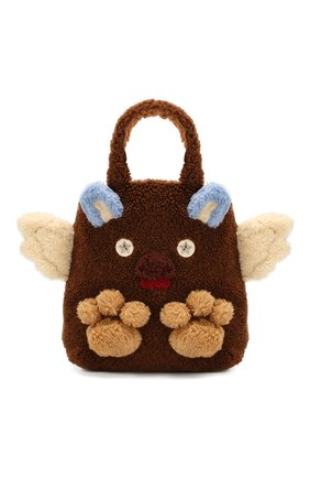 Детская сумка из шерсти GUCCI бежевого цвета, арт. 581007/GY3AN | Фото 1
