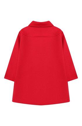 Детского шерстяное пальто GUCCI красного цвета, арт. 577325/XWAF1 | Фото 2