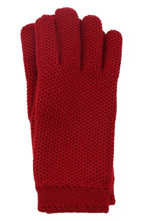 Женские кашемировые перчатки LORO PIANA красного цвета, арт. FAA1252 | Фото 1