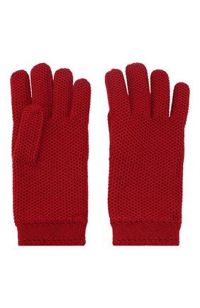 Женские кашемировые перчатки LORO PIANA красного цвета, арт. FAA1252 | Фото 2