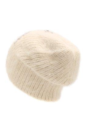 Женский шерстяная шапка JENNIFER BEHR белого цвета, арт. 46XA31 | Фото 2