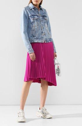 Женские текстильные кроссовки track.2 BALENCIAGA белого цвета, арт. 568615/W2GN1 | Фото 2
