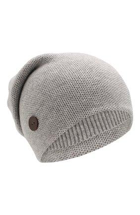 Женский кашемировая шапка INVERNI серого цвета, арт. 3792CMC1 | Фото 1