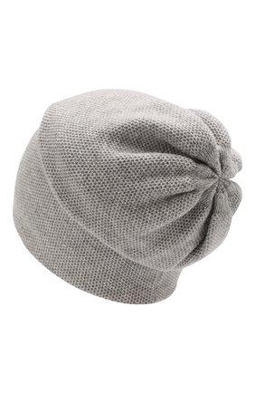 Женский кашемировая шапка INVERNI серого цвета, арт. 3792CMC1 | Фото 2