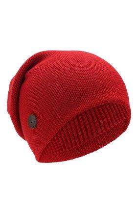 Женский кашемировая шапка INVERNI красного цвета, арт. 3792CMC1 | Фото 1
