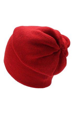 Женский кашемировая шапка INVERNI красного цвета, арт. 3792CMC1 | Фото 2