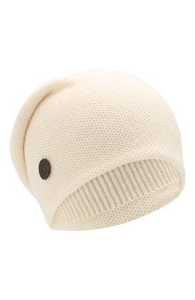 Женский кашемировая шапка INVERNI белого цвета, арт. 3792CMC1 | Фото 1