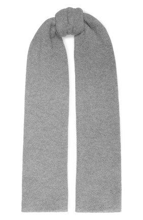 Мужские кашемировый шарф INVERNI серого цвета, арт. 9063SM | Фото 1