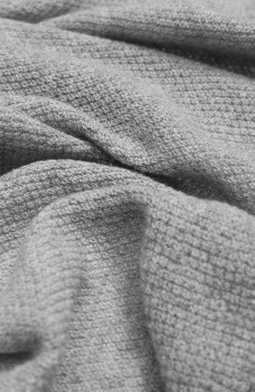 Мужские кашемировый шарф INVERNI серого цвета, арт. 9063SM | Фото 2