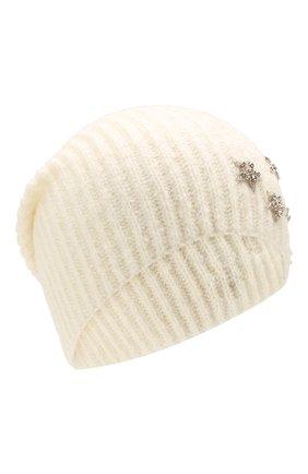 Женский шапка JENNIFER BEHR белого цвета, арт. 46XA49 | Фото 1