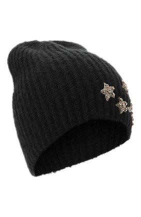 Женский шапка JENNIFER BEHR черного цвета, арт. 46XA49 | Фото 1