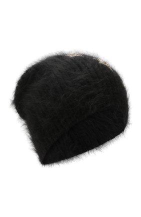Женский шерстяная шапка JENNIFER BEHR черного цвета, арт. 46XB82 | Фото 1