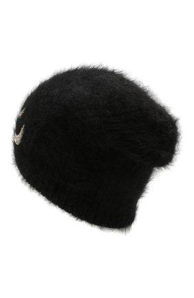 Женский шерстяная шапка JENNIFER BEHR черного цвета, арт. 46XB82 | Фото 2
