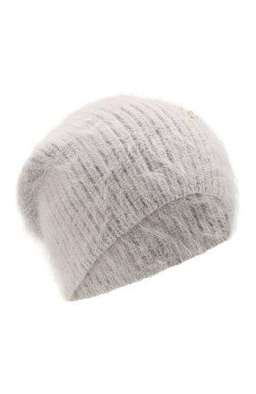 Женский шерстяная шапка JENNIFER BEHR серого цвета, арт. 46XB82 | Фото 1