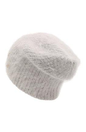 Женский шерстяная шапка JENNIFER BEHR серого цвета, арт. 46XB82 | Фото 2