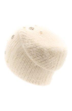 Женский шерстяная шапка JENNIFER BEHR белого цвета, арт. 46XB84 | Фото 2