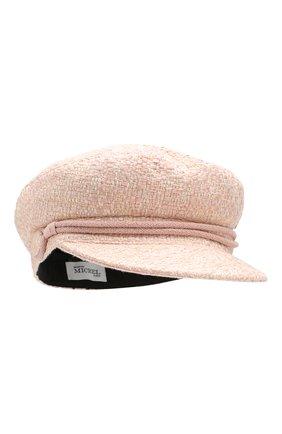 Женская кепка new abby MAISON MICHEL розового цвета, арт. 2213038001/NEW ABBY | Фото 1