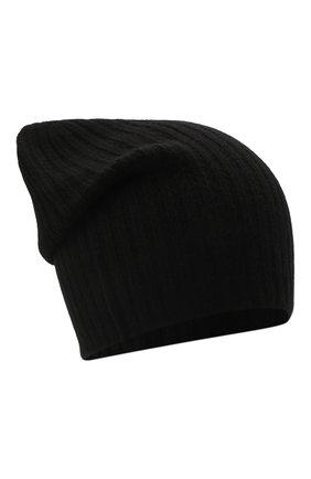 Мужская кашемировая шапка TEGIN черного цвета, арт. 5226   Фото 1