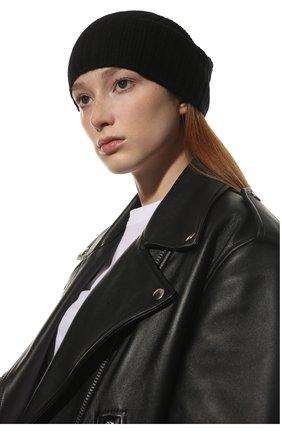 Мужская кашемировая шапка TEGIN черного цвета, арт. 5226   Фото 2