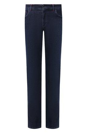Мужские джинсы ZILLI темно-синего цвета, арт. MCS-00270-HIPE1/R001 | Фото 1