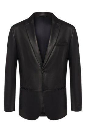 Кожаный пиджак   Фото №1